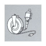 Coleman Cable Light Reel w/Circuit Breaker Handle
