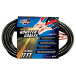 Coleman Cable Light Duty Battery Booster Cables, 12 Foot, 10 Gauge, with 200 Amp Clamps