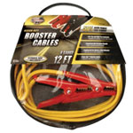 Coleman Cable Medium Duty Battery Booster Cables, 12 Foot, 8 Gauge, with 400 Amp Clamps