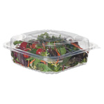 Eco-Products Clear Clamshell Hinged Food Containers, PLA, 8 x 8