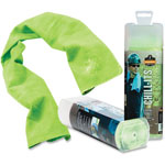 Ergodyne Evaporative Cooling Towel, Lime