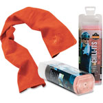 Ergodyne Evaporative Cooling Towel, Orange