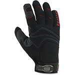 Ergodyne PVC Handler Gloves, Small, 1/PR, Black