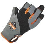 Ergodyne ProFlex 720 Heavy-Duty Framing Gloves, Gray, Small, 1 Pair