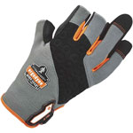 Ergodyne ProFlex 720 Heavy-Duty Framing Gloves, Gray, Large, 1 Pair