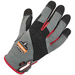 Ergodyne ProFlex 710CR Heavy-Duty + Cut Resistance Gloves, Gray, Large, 1 Pair