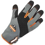 Ergodyne ProFlex 820 High Abrasion Handling Gloves, Gray, Large, 1 Pair