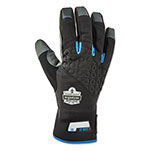 Ergodyne Proflex 817 Reinforced Thermal Utility Gloves, Black, Large, 1 Pair