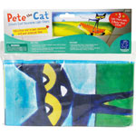 Educational Insights Decorative Light Filter, Pete the Cat, 4'Wx2'H, 3/PK, Multi
