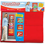 "Educational Insights Space Place Pocket Chart, 12 Pkts, 14"" x 55"", Multi"