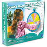 Educational Insights Jumbo Magnetic Spin Wheel White Board, MI