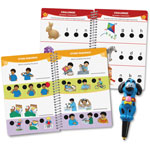 Educational Insights Reading Skills Book Hotdots Set, Pre-K, 100 Lessons