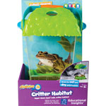 "Educational Insights Critter Habitat, GeoSafari Jr., 7-1/10""Wx10""Lx10""H, Multi"