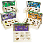 Educational Insights Rock Mineral/Fossil Collection Set, 62 Pcs, Ast