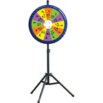 "Educational Insights ReMarkable Dry Erase Spin Wheel, 27 1/2"" dia x 65"" h, Assorted Colors"