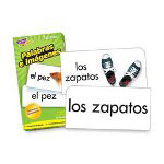 Trend Enterprises Flash Cards, Spanish, More Picture Words,96/BX
