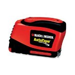 Black & Decker Powered Tape Measure, with Belt Clip, 25', Red/Black
