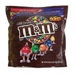 M & M's Plain with Zipper on Bag, 45 oz.