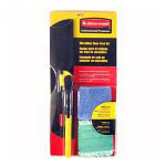 "Rubbermaid Mopping Kit, with 18"" Frame, 52"" Steel Handle, Wet/Dry Pad"