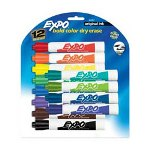 Expo® Expo Dry-erase Marker, Chisel Point, Black