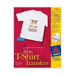 Avery 3271, Clear Iron-On-T-Shirt Transfers
