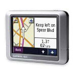 Garmin Silver Touch Screen Portable GPS Navigation Unit