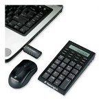 Kensington Wireless Notebook Keypad/Calculator Mouse Set, Black