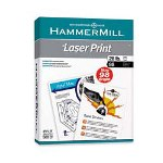 "Hammermill Laser Print Paper, 24 lb, 98 Bright, 8-1/2"" x 11"", 10/Carton, Radiant White"