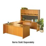 "Lorell Rectangular Desk Shell, 60""x30""x29-1/2"", Cherry"