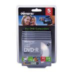 Memorex DVD-R, 4X, 1.4GB, Branded, 5/PK