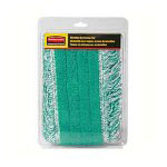 Rubbermaid Refill Dry Pads, for Value Line Mop Kit, Green