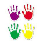 Carson Dellosa Publishing Company Handprint Assorted Cut-outs