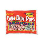 Marjack Dum Dum Lollipops, Assorted Flavors
