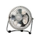 "Lakewood Engineering Metallic High Velocity Fan, 1 Speed, 6 1/2"" x 3"" x 7 1/2"""