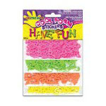 Fibre-Craft Foam Dotty Alphabet Stickers, Assorted
