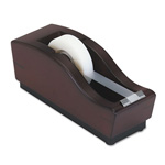 Eldon Executive Woodline II Tape Dispenser, Mahogany Finish