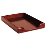 Eldon Wood Tones Legal Tray Desk Accessory, Front Load, Stacking, Mahogany
