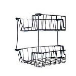 Eldon Wire Front/Back Loading Desk Trays, 8""