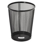 Eldon Nestable Wire Mesh Jumbo Pencil Holder, Black