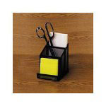 Eldon Expressions Wire Mesh Pencil and Card Holder, Black