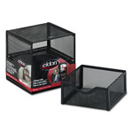 Eldon Expressions Wire Mesh 2 Drawer Cube, Black