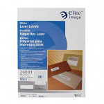 Elite Image Label Laser 1/2 X 1 3/4 White