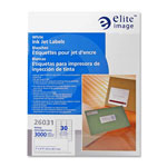 Elite Image Label InkJet 1 X 2 5/8 White