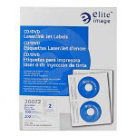 Elite Image Label CD/DVD Laser/InkJet Matte White