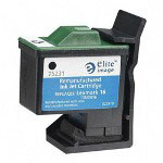 Elite Image 75231 Black Inkjet Printer Cartridge for X75, 410 Pages