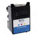 Elite Image 75237 Color Inkjet Cartridge for Stylus C62, 300 Pages