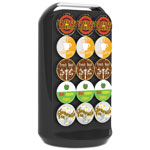 Mind Reader Coffee Pod Carousel, Fits 30 Pods, 6.85 x 6.85 x 12.52, Black