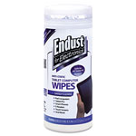 Endust Tablet and Laptop Cleaning Wipes, Unscented, 70 Per Tub