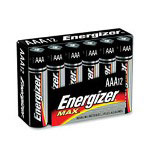 Energizer Max Alkaline AAA Batteries, Pack Of 12