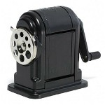 Elmer's Black Ranger 55 Table or Wall Mount Heavy Duty Pencil Sharpener